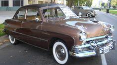 Ford Crestliner Tudor Sedan 1951.