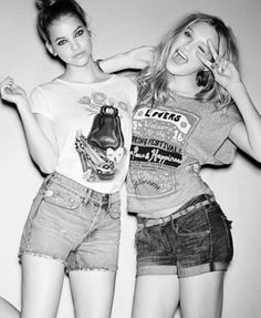 Barbara Palvin and Candice Swanepoel  I love you both.