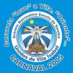 para o samba enredo da Vila Isabel