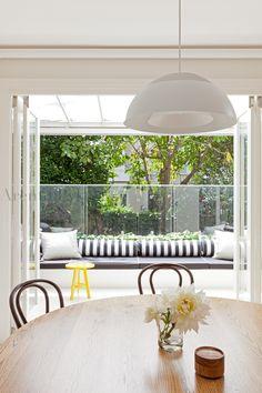 #woollahra #kitchen #dining #arentpyke #arent #pyke #thonet #benchseat