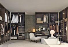 Gliss Walk-in Closet System by Molteni & C