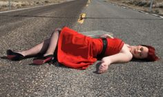 Dead Sexy on the Highway Heels