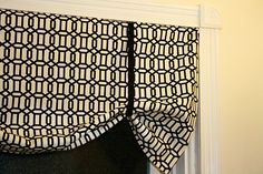 20 Uber Easy No-Sew DIY Curtains | Home Design Lover - Super Easy No Sew Curtains/Valance