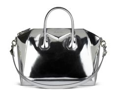 Givenchy Inspired saved this image to their profile. Givenchy antigona silver mirror leather bag.