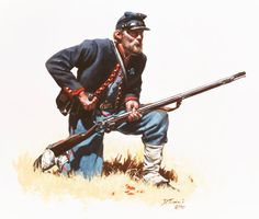 Union; 72nd Pennsylvania Volunteers, Baxter's Fire Zouaves, Private, 1862-63 by Don Troiani