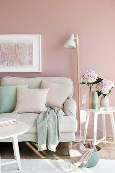 ¡Qué buenísima técnica! Sigue la regla del 60/30/10 y ¡combina colores con éxito!  #decoración