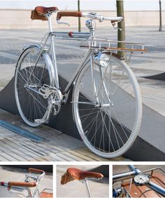Chrome Porteur Bicycle