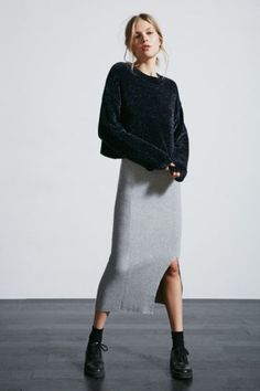 Cheap Monday Rival Knit Skirt - Urban Outfitters