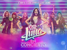 No se pierdan el concierto de soy Luna. En Bogotá el 22 de April a las 6:00 pm. Por el lado del el centro comercial nina.por la autopista norte