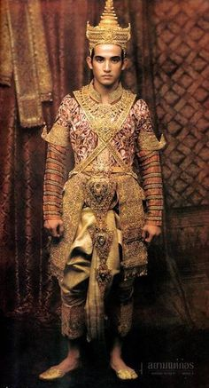 Tradition Thai costume