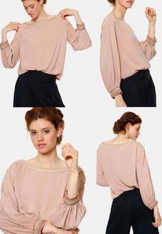 blouse boheme chic