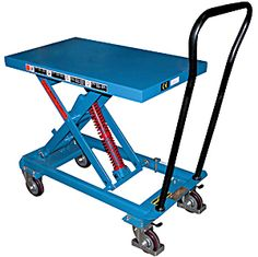Vestil SCSC Auto-Hite Carts For Sale. HOF Equipment Company sells Auto Hite carts for less. Metal Cart, Lift Table, Truck Bed, Transport, Tool Set, Drafting Desk, Diy And Crafts, Custom Design, Workshop