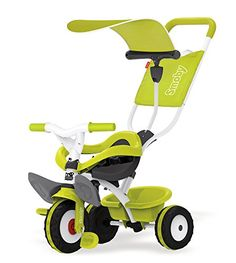 Smoby - 7600444192 - Tricycle - Baby Balade - Vert Smoby https://www.amazon.fr/dp/B019OSG318/ref=cm_sw_r_pi_dp_9mTtxbY30H811