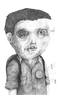 Drawings 2013 part 1 by Stefan Zsaitsits, via Behance