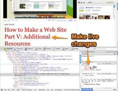 How to Make a Web Site Part V: Additional Resources