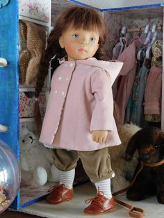 Sylvia Natterer doll White Balloons, Diy Doll, Little Darlings, Beautiful Dolls, American Girl, Baby Dolls, Doll Clothes, Creations, Sewing