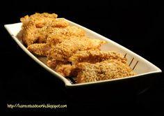 Crujientes de pollo oriental.