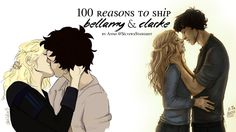 100 reasons to ship Bellamy & Clarke