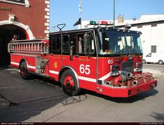 SpartanPumperChicago Fire DepartmentEmergency Apparatus Fire Truck Photo