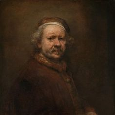 Learn about Dutch artist and painter Rembrandt Van Rijn, and see portraits he painted throughout his life. Rembrandt Van Rijn is one of the world's greatest portrait painters, which shows in these self-portraits. History Class, Art History, Rembrandt Self Portrait, Fine Art Drawing, Dutch Painters, Dutch Artists, Favorite Words, Online Art, A Table