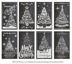 Similar Items Like Chalk Board - Gift Tags - Christmas Christmas Tree . - Chalk Board – Gift Tags – Christmas Tree – Black + White on Etsy - Christmas Doodles, Christmas Gift Tags, Christmas Crafts, Christmas Ornaments, Christmas Christmas, Christmas Window Decorations, Christmas Window Display, Xmas Trees, Christmas Chalkboard Art