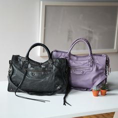 Beautiful pre-owned Balenciaga City bags sold on consignment. Balenciaga  Clothing 19b38ccfc56a0