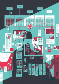 Você é ilustrador ou designer e não conhece o trabalho de Tom Haugomat? Meu amigo, corre!
