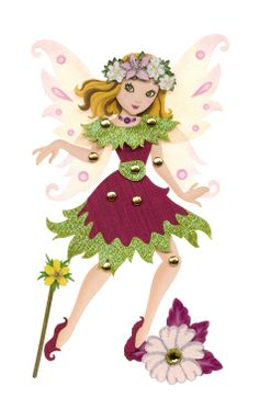 Jolee's Boutique Poseable Dimensional Sticker, Fairy