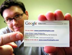 Your URL. Your online presence. Personal or Corporate a clear way to make a statement. Business card.