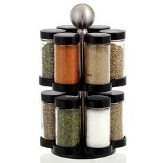 Kamenstein 'Madison' 12-jar Revolving Spice Rack by Kamenstein