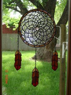 stained glass dream catchers - Google Search
