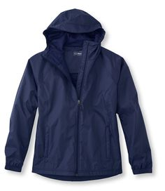 Dark Royal Blue Discovery Rain Jacket