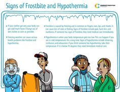 Now that temperatures are dipping lower, it's tempting to play outside in the snow! Community Health Plan of Washington wants to remind you that it's important to check for signs of frostbite and hypothermia this time of the year.