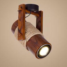 Search results for: 'uk lighting ceiling-lights semi-flush-lights vintage-retro-wood-rope-lamp-adjustable-semi-flush-mount-ceiling-light' Retro Ceiling Lights, Flush Ceiling Lights, Ceiling Light Fixtures, Ceiling Lamps, Ceiling Lighting, Wood Lights, Bamboo Light, Bamboo Lamp, Retro Rad
