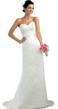 Faironly Lace Modified A-line Bridal Gown Wedding Dress (S, Ivory) FairOnly,http://www.amazon.com/dp/B00BT6GQH0/ref=cm_sw_r_pi_dp_iGP3rb1AT5D6ERVK