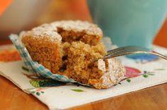 Dulcinea: Muffins de zanahorias y manzana