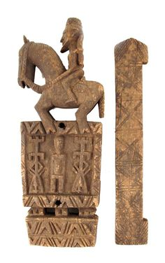 Africa   Door lock with bolt from the Dogon people of Mali   Wood