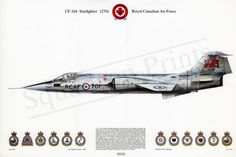 Purchase Starfighter at Squadron Prints. Print and other products are available at the best prices online. Shop for Print now! Canadian Army, Air Space, Aviation Art, War Machine, Armed Forces, Military Aircraft, Military Vehicles, Fighter Jets, Cool Pictures
