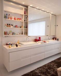 """6,745 curtidas, 104 comentários - Arquitetura   Decoração   Casa (@ideiasparabanheiros) no Instagram: """"Inspiração de banheiro. ❤"""""""