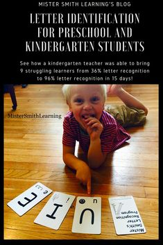 Mister Smith's Letter Recognition Program is for Parents, Preschool Teachers and Kindergarten Teachers that have children that are struggling to learn and consistently remember their uppercase letters. What it is: Mister Smith's Letter Recognition Program Kindergarten Special Education, Kindergarten Teachers, Elementary Teaching, Literacy Skills, Early Literacy, Learning Letters, Kids Learning, Educational Websites For Kids, Preschool Programs