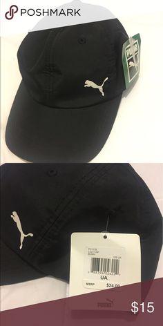 Puma Hat Black Puma Lilly Cap, never worn Puma Accessories Hats