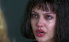 Find images and videos about cry, crying and Angelina Jolie on We Heart It - the app to get lost in what you love. Film Aesthetic, Bad Girl Aesthetic, Crying Aesthetic, Gia Movie, Cabelo Inspo, Angelina Jolie 90s, Crying Girl, Sad Girl, Celebrity Babies