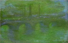 Waterloo Bridge, Dawn - Claude Monet