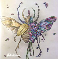 Imagimorphia - inktense pencils