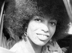 Ativista política foi uma das mulheres mais fortes a integrar o movimento Panteras Negras, majoritariamente masculino. Integrante também do Partido Comunista e defensora dos direitos das mulheres e atuante contra discriminação racial e social nos Estados Unidos. Foi homenageada por sua luta pelos direitos humanos, inclusive em músicas de John Lennon e Yoko Ono e dos Rolling Stones. Atualmente é professora do Departamento de História da Universidade da Califórnia.