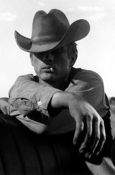 James Dean, Giant (Gigante), 1955. <3<3