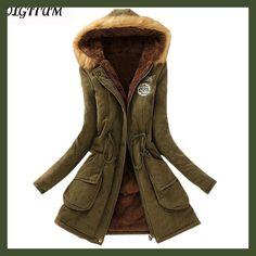 2017 New Parkas Female Women Winter Coat Thickening Cotton Winter Jacket Womens Outwear Parkas for Women Winter