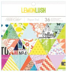 LemonLush 6x6 Paper Pad at @Studio_Calico