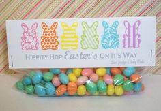 EASTER Treat Bag Toppers  Favor Bag Toppers  by WithEnvyParties, $5.50