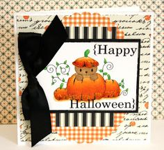 Chi Chi Memories digital stamps  Cute Halloween card made by Alice Carman  http://www.chichimemories.com